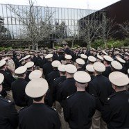 Northwest Chief's Mess observes colors for Navy's 122nd Chief's Birthday