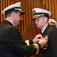 Submarine Squadron 17 change of command