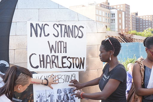 NYC Stands With Charleston Vigil and Rally 22nd June 2015