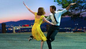 """Ryan Gosling and Emma Stone dance in the film """"La La Land."""""""