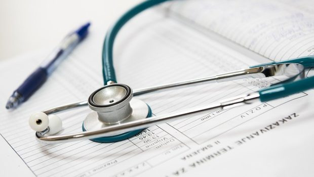 stethoscope and medical documents for medicare patients